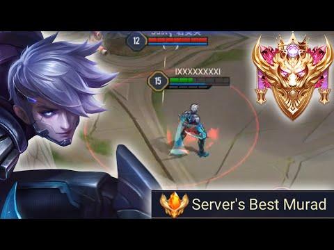 SERVER BEST MURAD PRO GAMEPLAY - Arena of Valor Murad Gameplay #10