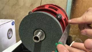 як зробити точильний верстат з пральної машини