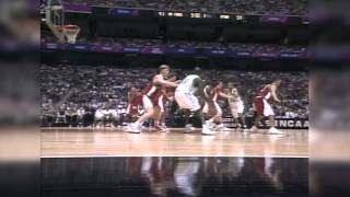 Utah defeats North Carolina in 1998 NCAA Final Four