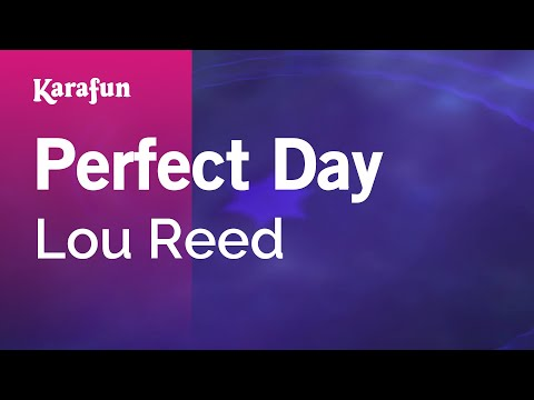 Karaoke Perfect Day - Lou Reed *