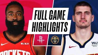 Game Recap: Nuggets 124, Rockets 111