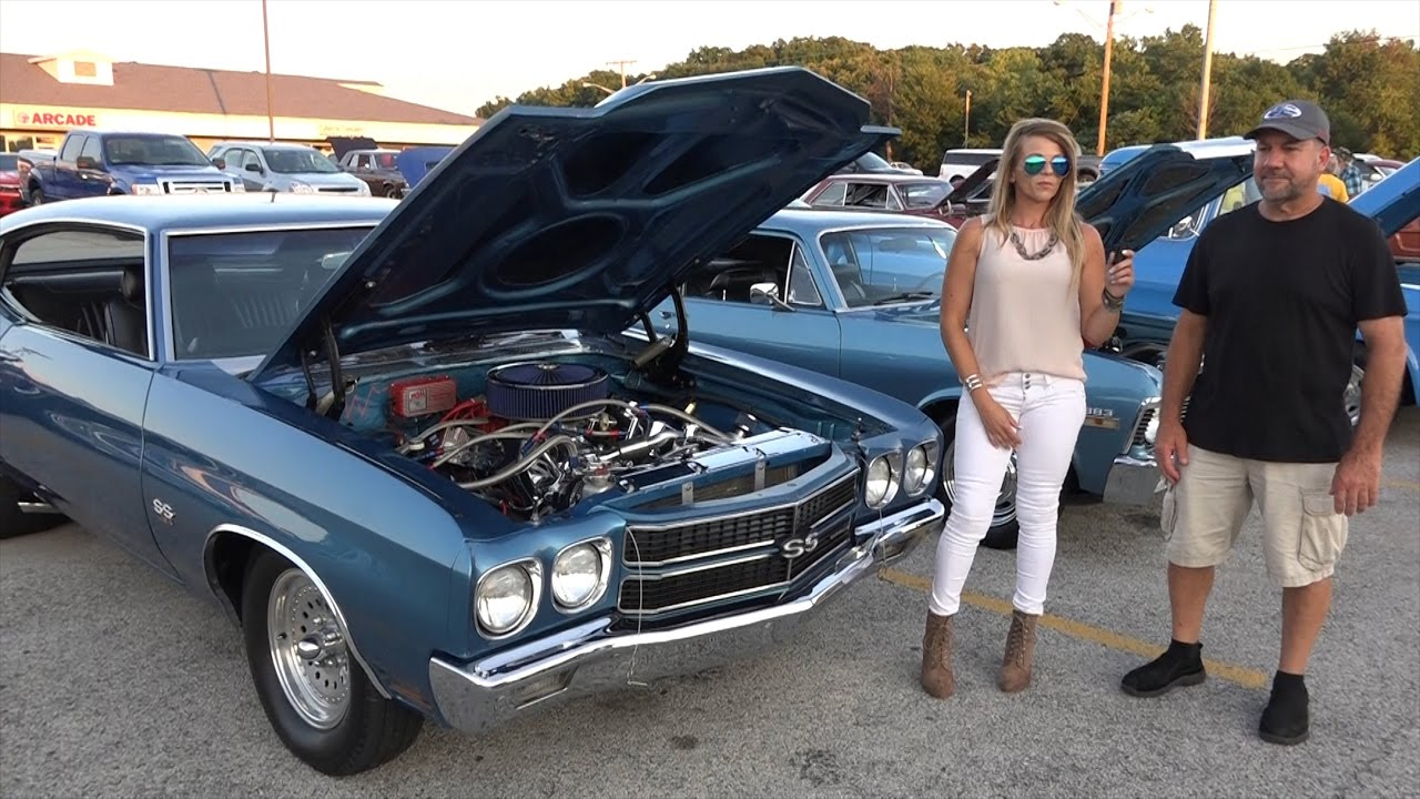 2016 Chevelle Ss >> 1970 Chevy Chevelle - Huge Hoosier Tires - Painted ...