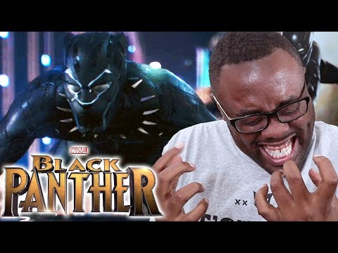 BLACK PANTHER Teaser Trailer REACTION! SO HYPE! #BlackPanther [Black Nerd]