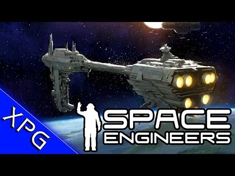 space engineers how to build a starship