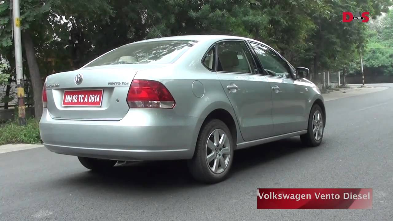 volkswagen vento diesel review  road test video youtube