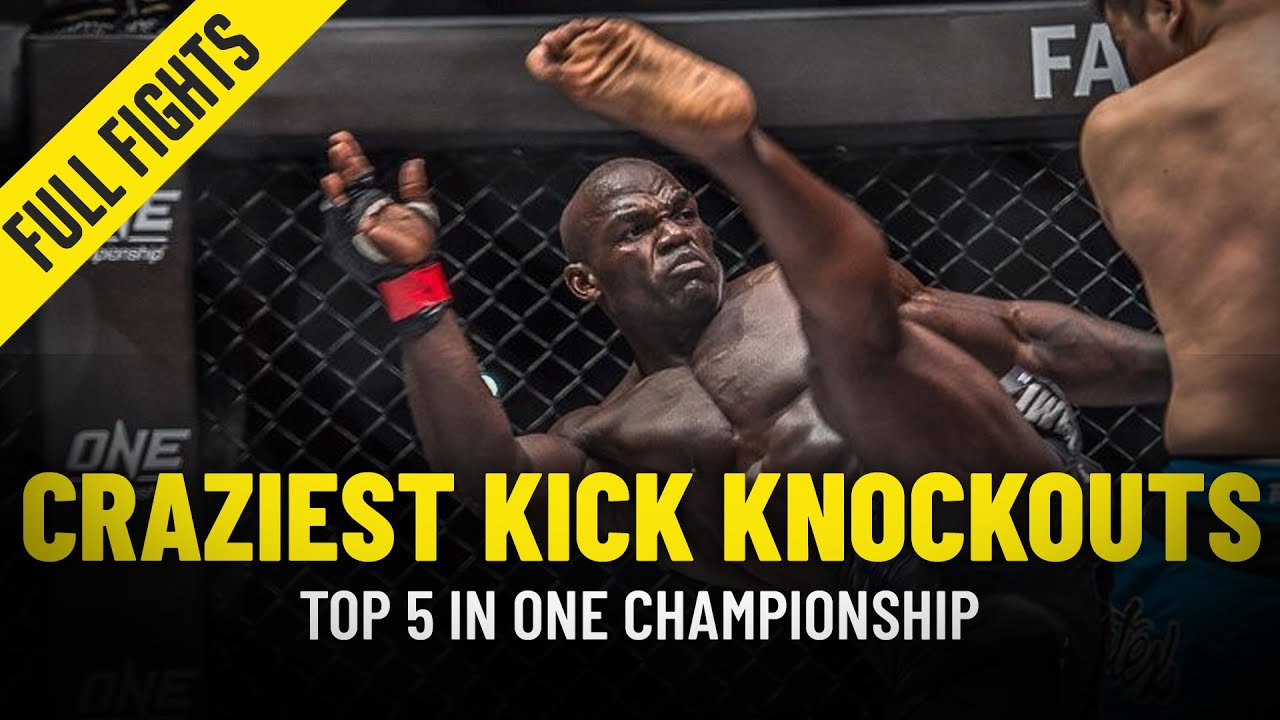 5 Craziest Kick Knockouts In ONE Championship History