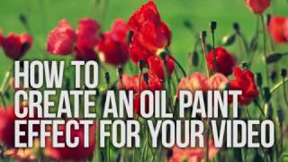How to add OilPaint effect to your video with VSDC Free Video Editor