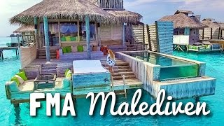 Follow Me Around MALEDIVEN (Maldives) 🌴🌺👙🐠🐚 SIX SENSES LAAMU ☀️ Schildis 🐢 Unterwasserwelt 🐠
