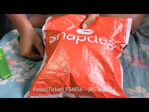 Is SNAPDEAL selling FAKE FOSSIL!!!