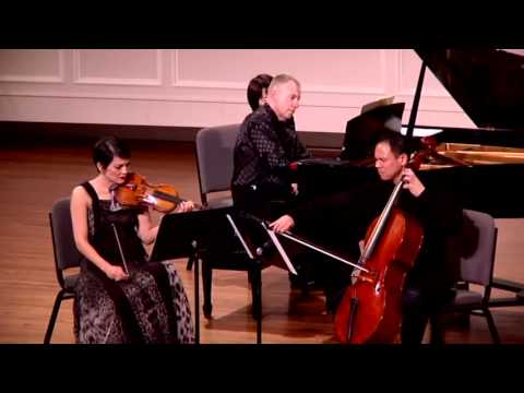Meyers, Tsang and Nel play the Arensky Trio No.1 in D Minor