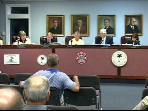 4/26/11, City Council and Public Hearing, Isle of Palms, South Carolina