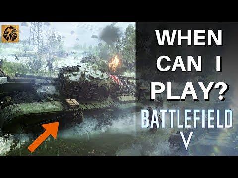 When Can I PLAY Battlefield V? FULL GUIDE on Release Days! #BattlefieldV thumbnail