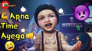 🤣 Funny 💪 Apna Time Ayega 👊 Animation WhatsApp Status Video By Prasenjeet Meshram