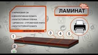 """НТВ """"Обзор напольных покрытий"""""""