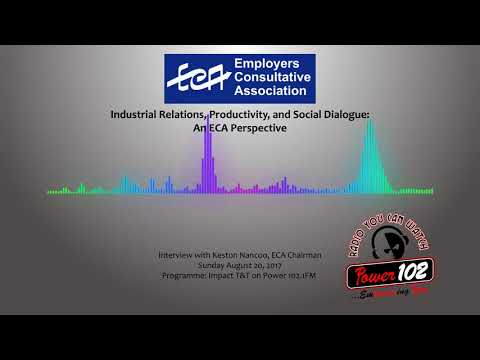 Industrial Relations, Social Dialogue and Productivity