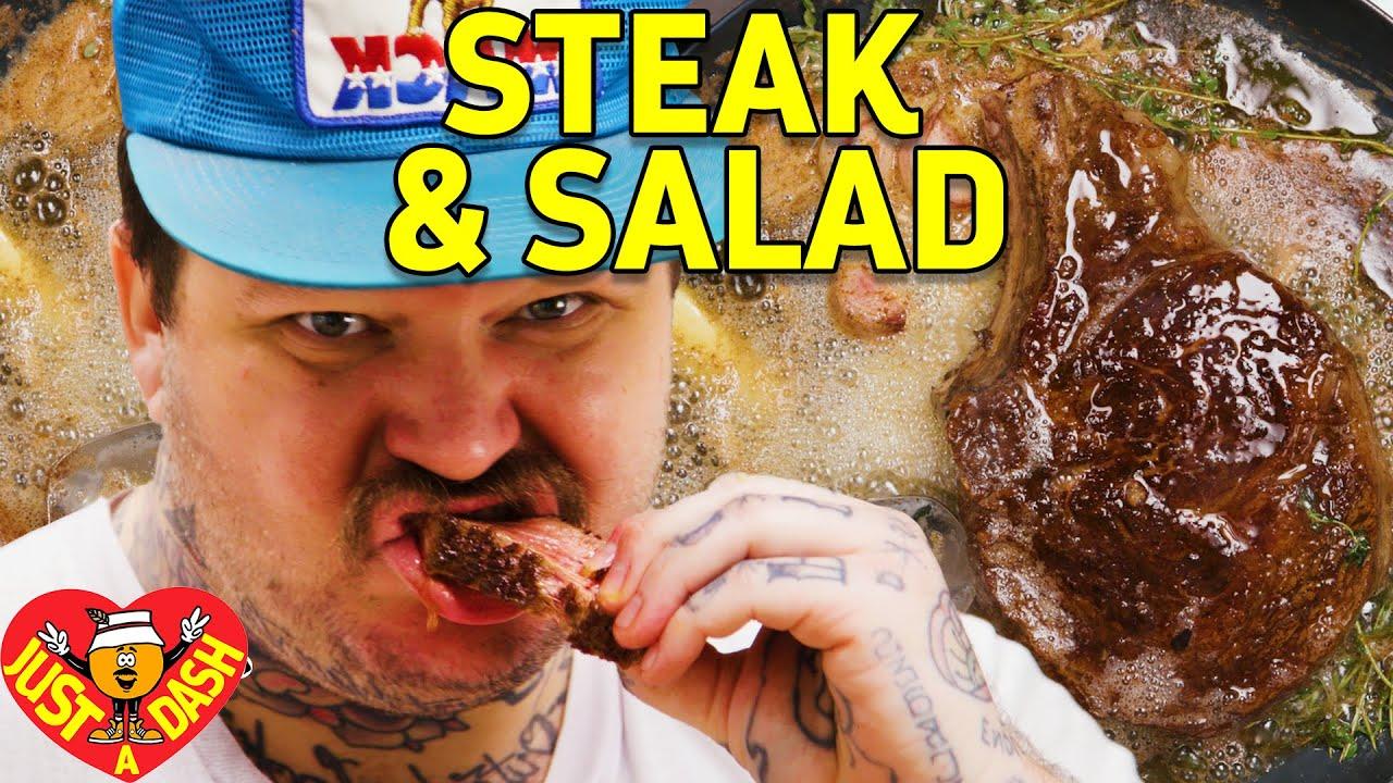Download Drop Acid & Butter Baste Steaks | Matty Matheson | Just A Dash | EP 4