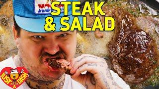 Drop Acid & Butter Baste Steaks | Matty Matheson | Just A Dash | EP 4