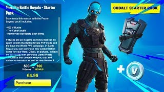 NEW STARTER PACK COME! -Skin Introduction & Giveaway-Fortnite UK