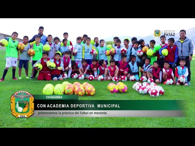 ACADEMIA DEPORTIVA MUNICIPAL 2019