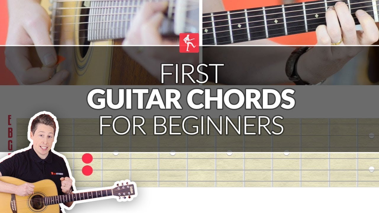 First Guitar Chords For A Total Beginner Acoustic Guitar Lesson