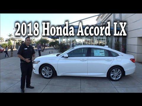 2018 Honda Accord LX (Base model) Review