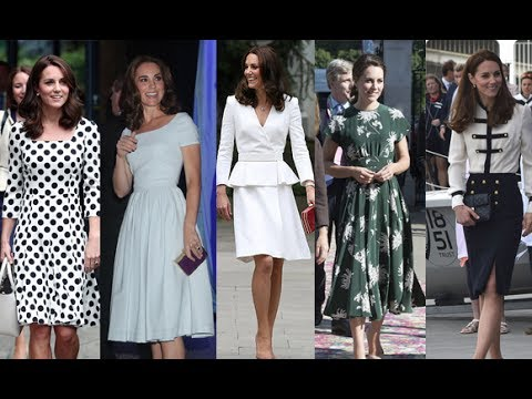 How Kate Middleton perfected the art of literal dressing