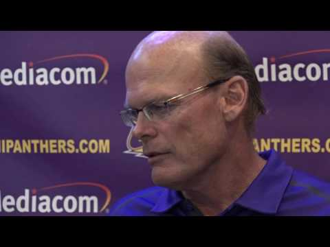 UNI Football Press Luncheon - Aug. 29, 2016 - first game tests / defense / secondary