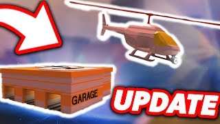 NEW ROBLOX JAILBREAK UPDATE! | Custom Helicopter Skins, Engine Upgrades, and More!