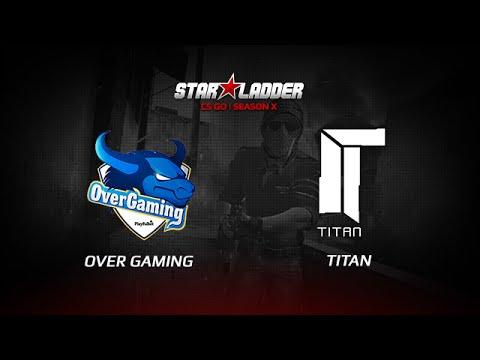 OverGaming vs TitaN, StarSeries X, inferno