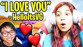 HelloItsVG le dice LISBOKATE que ama su... (con paja) Roblox Jailbreak
