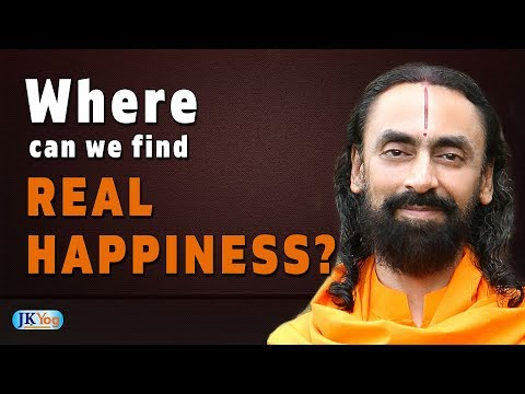How to be Happy in Life   Learn This One Secret to Find Real Happiness   Swami Mukundananda   JKYog
