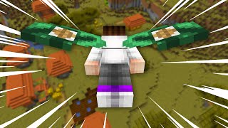 I started with ELYTRA in Minecraft UHC...