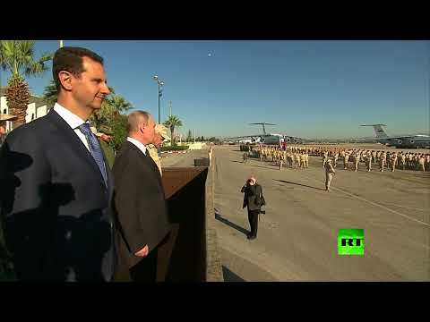 بوتين يتفقد القوات الروسية في حميميم  - نشر قبل 2 ساعة