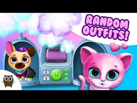 random-outfits-for-kiki-&-fifi-😜-magic-makeover-machine- -tutotoons-cartoons-&-games-for-kids