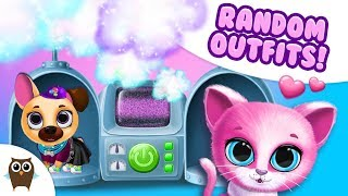 Random Outfits for Kiki & Fifi 😜 Magic Makeover Machine | TutoTOONS Cartoons & Games for Kids