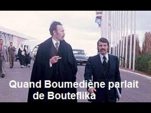 Algérie : Quand Boumediène parlait de Bouteflika