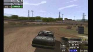 driven to destruction (figure 8 jump race).