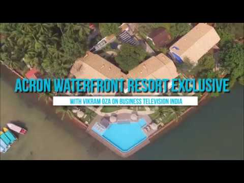 The Waterfront Experience with Business TV India's Vikram Oz