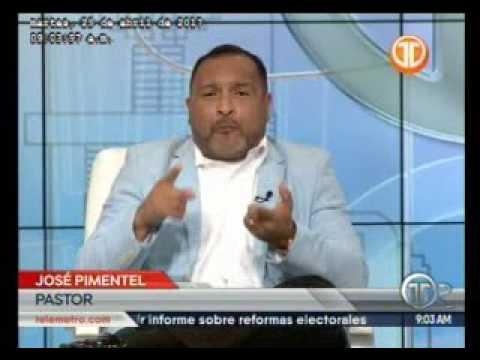 TELEMETRO pastor José Pimentel, jornada de oración por Colón