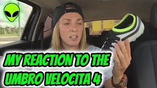 MY THOUGHTS ON THE BRAND NEW UMBRO VELOCITA 4