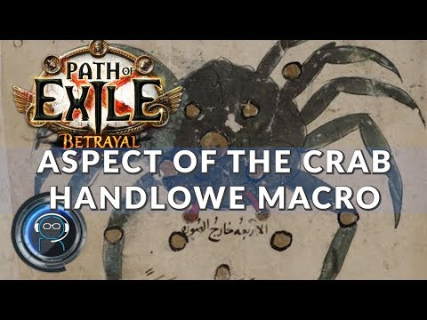 Aspect of the Crab - bestia! | Path of Exile 3.5 + macro do wyceny
