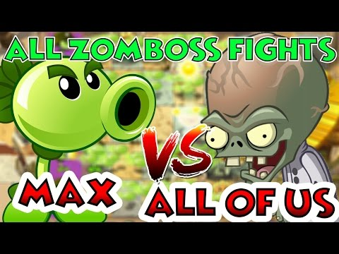 Plants vs Zombies 2 Epic Max Level UP - REPEATER MAX vs ALL Freakin
