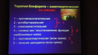 видео Блефарит