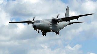 Casa CN-235  Spanish AF comes in at Gilze Rijen