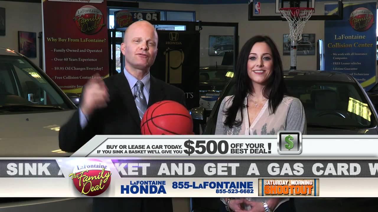 LaFontaine Honda - Saay Morning Shootout Special - Dearbor, MI ...