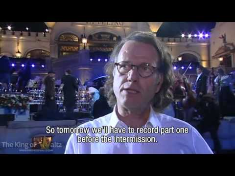 André Rieu - The Making of Fairytale Part 6