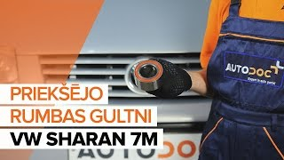 Video instrukcijas jūsu VW SHARAN