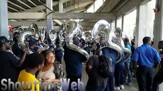 Tuba Battle - Talladega vs Jackson State - 2017 Crank Fest BOTB