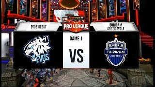 Week 2 Day 1 | RPL Season 2 - EVOS.Debut vs Buriram Arctic Wolf