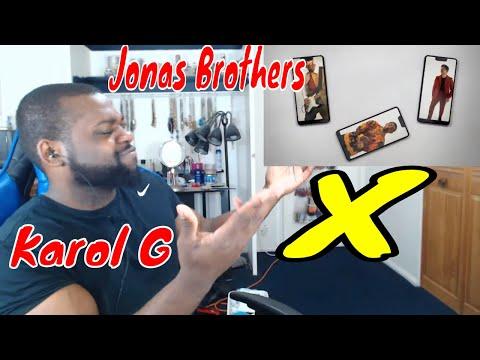 Jonas Brothers ft  KAROL G - X (Official Video) Reaction